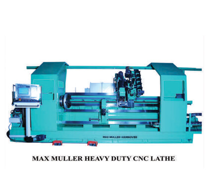 max muller heavy duty cnc lather